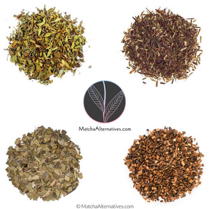 Super Antioxidant Quartet (4 'Purist' Teas Bundle) - Matcha Alternatives