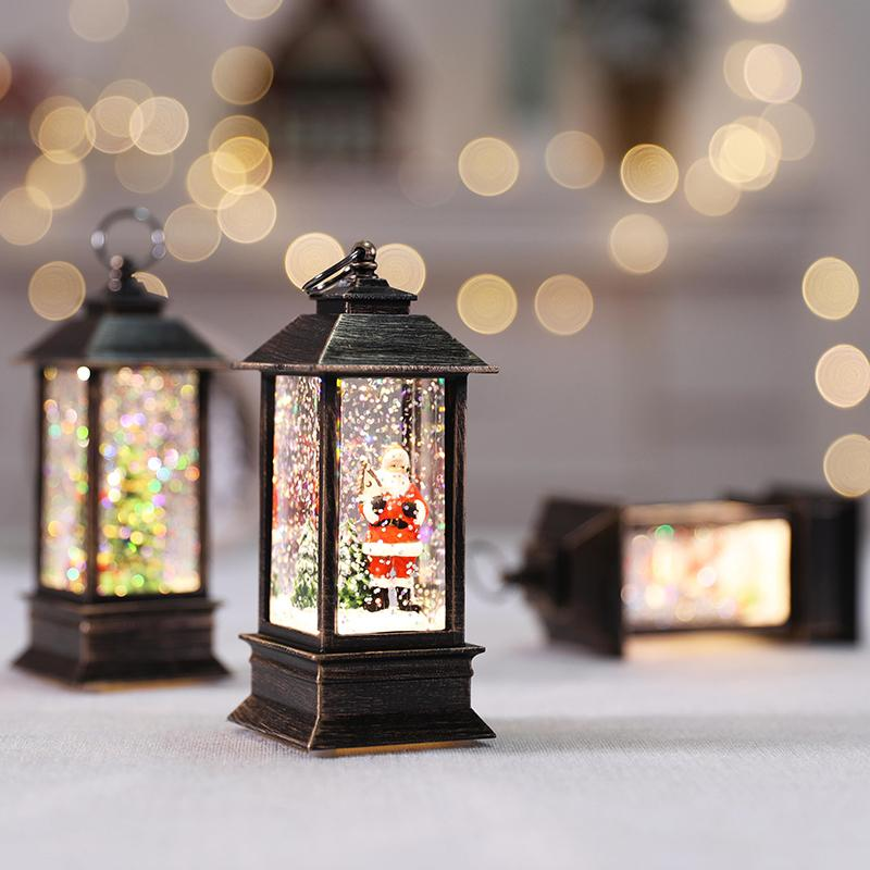 Color LED Christmas crystal lights