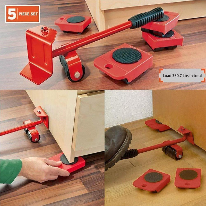 Domom Heavy Furniture Lifting and Moving Tool Set
