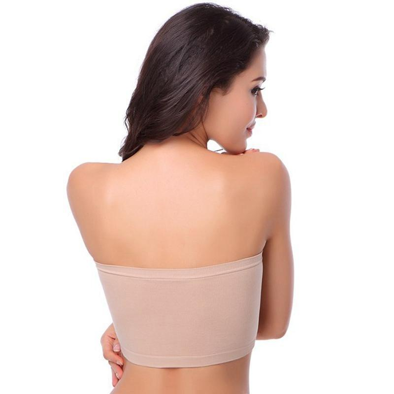 Supportive Seamless Bandeau Bra