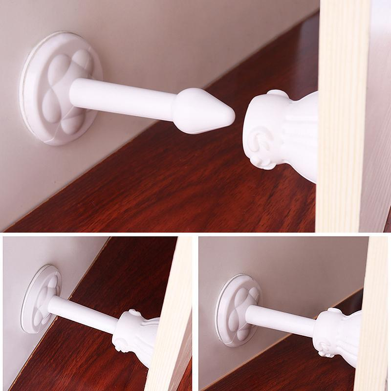 Silicone House Door Stopper (2/4 PCs)