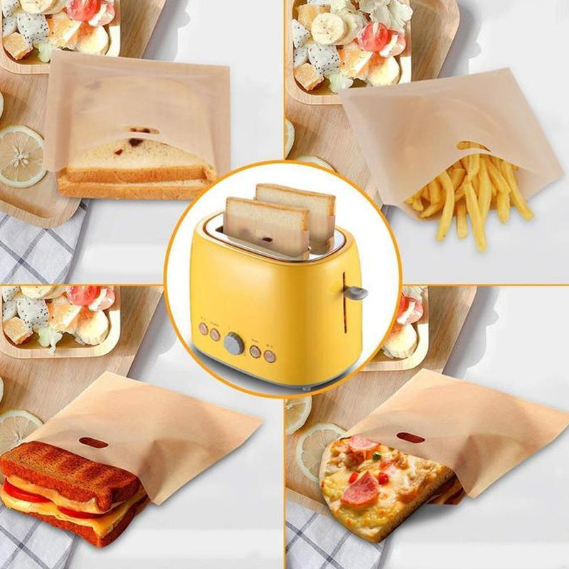 Hilifebox™ Reusable Perfect Toaster Bag(5pc Set)