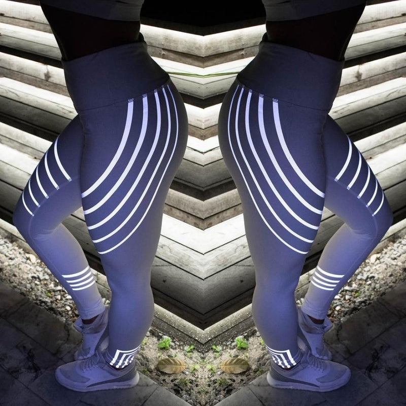 Hilifebox™ Rainbow Reflective Leggings