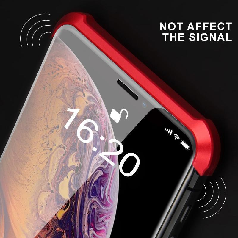 Hilifebox™ Double-sided Glass Magnetic Phone Cover, Shockproof and Borderless