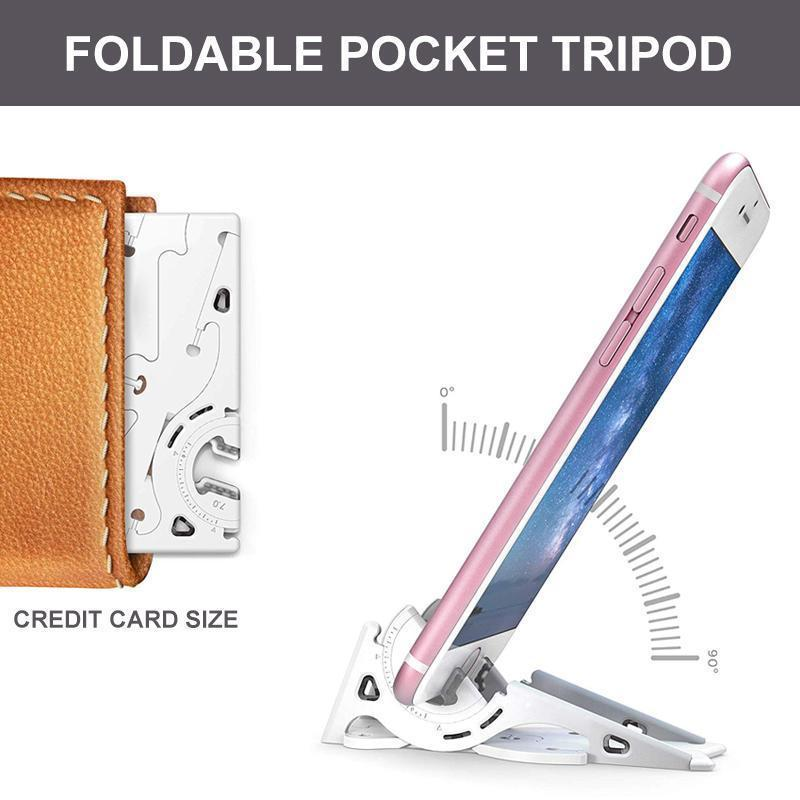 Card Size & Foldable Phone Holder