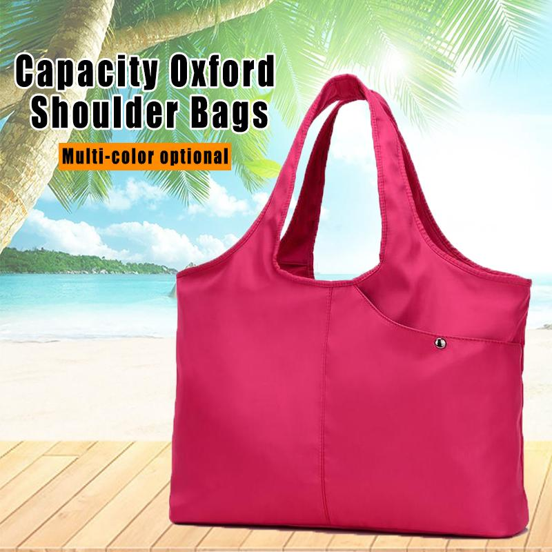 Large Capacity Oxford Shoulder Bags, 10 Colors
