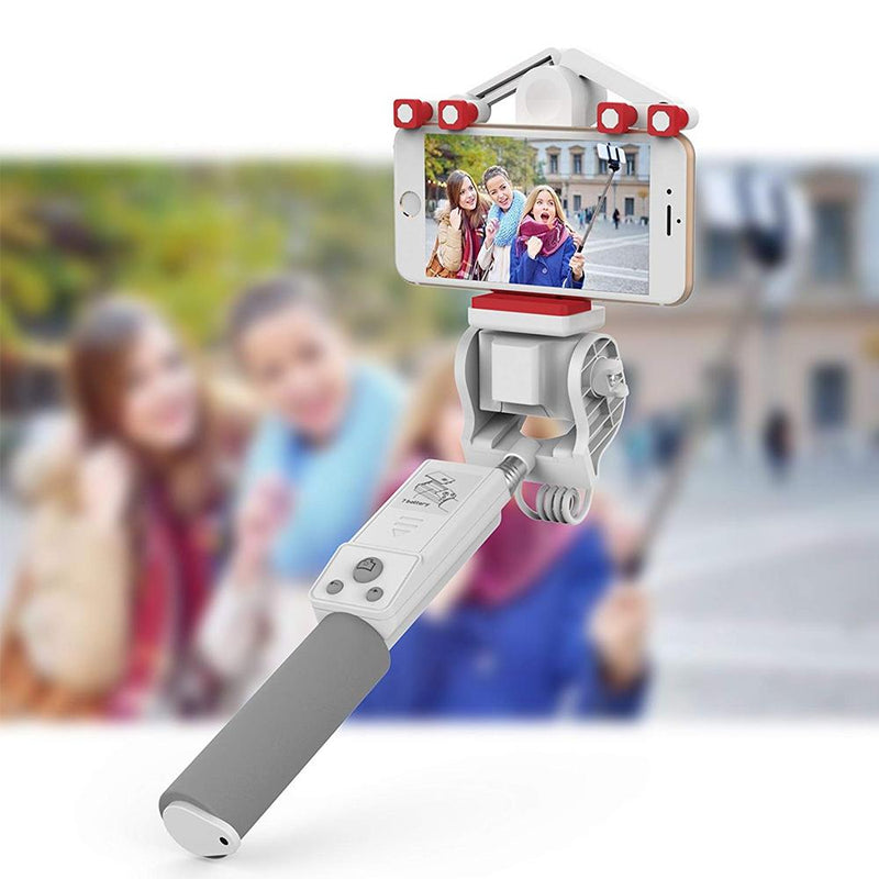 360° rotating phone selfie stick