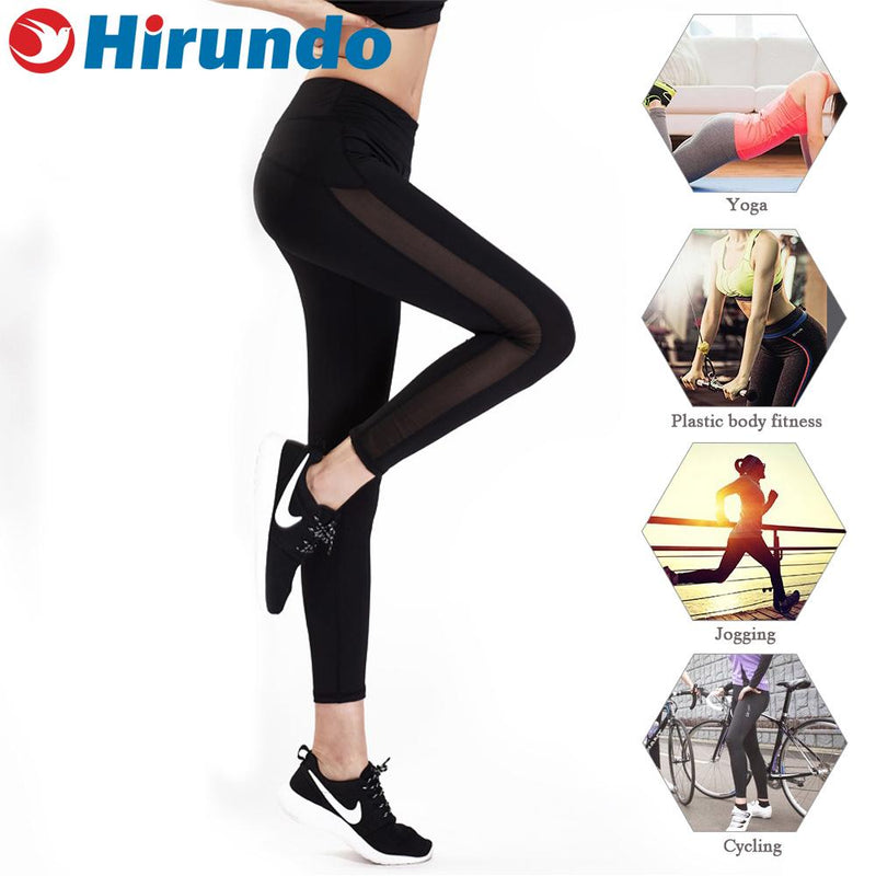 Hirundo Workout Leggings With Pockets