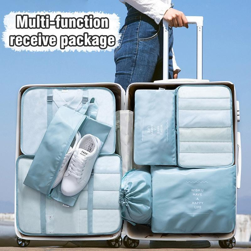 Travel Packing Luggage Organizer Set (7 PCs)