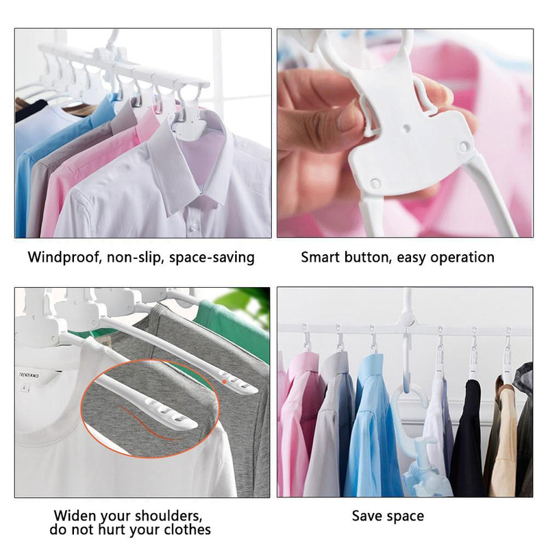 Hirundo Multifunctional Clothes Organizer for Space Saving