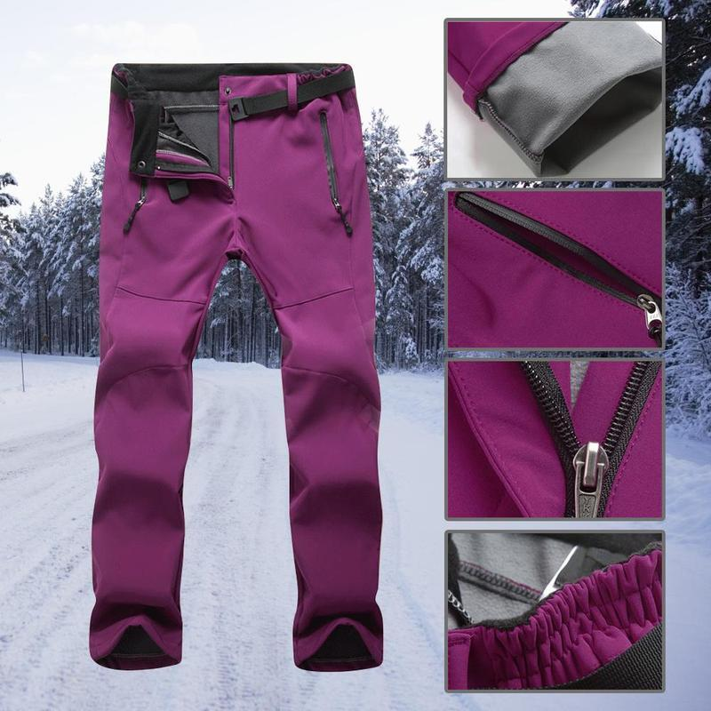 Hilife™ Anti-Cold & Water-Proof Skiing Pants with Zip Pocket  (SLIM FIT)