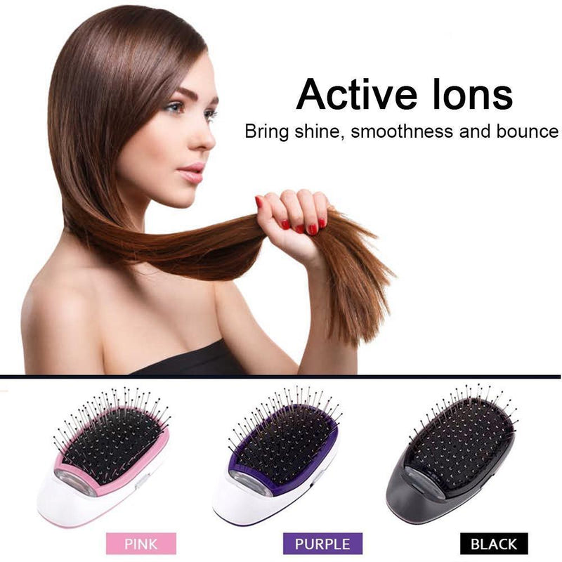 Hirundo® Portable Electric Ionic Styling Hair Brush
