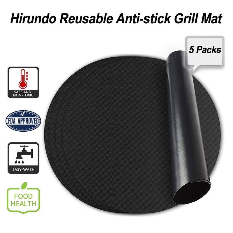 HIRUNDO REUSABLE ANTI-STICK GRILL MAT (SHORT TIME: 50% DISCOUNT)