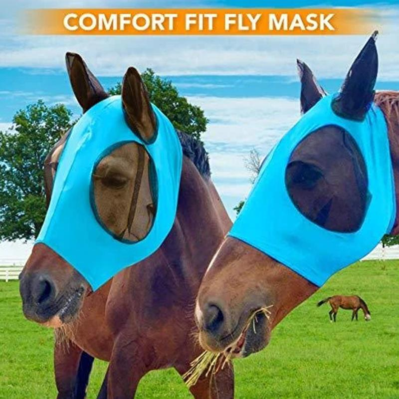 Anti-Fly Mesh Equine Mask