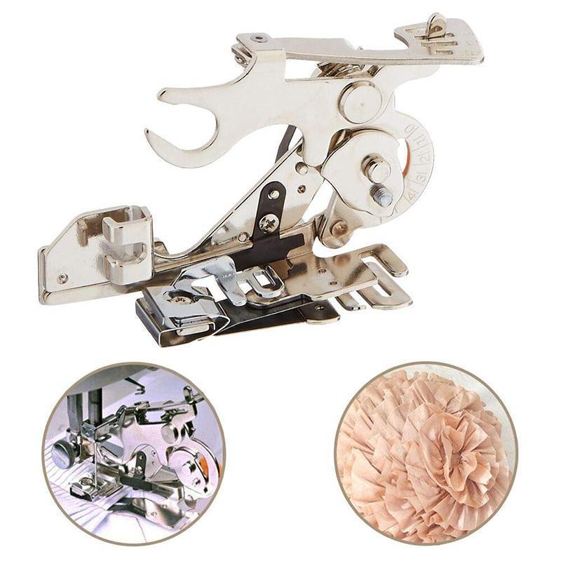Sewing Machine Ruffler Attachment Presser Foot