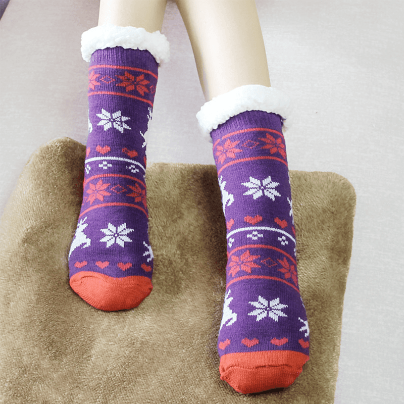 Hilifebox™ Thermal Fleece Slipper Socks
