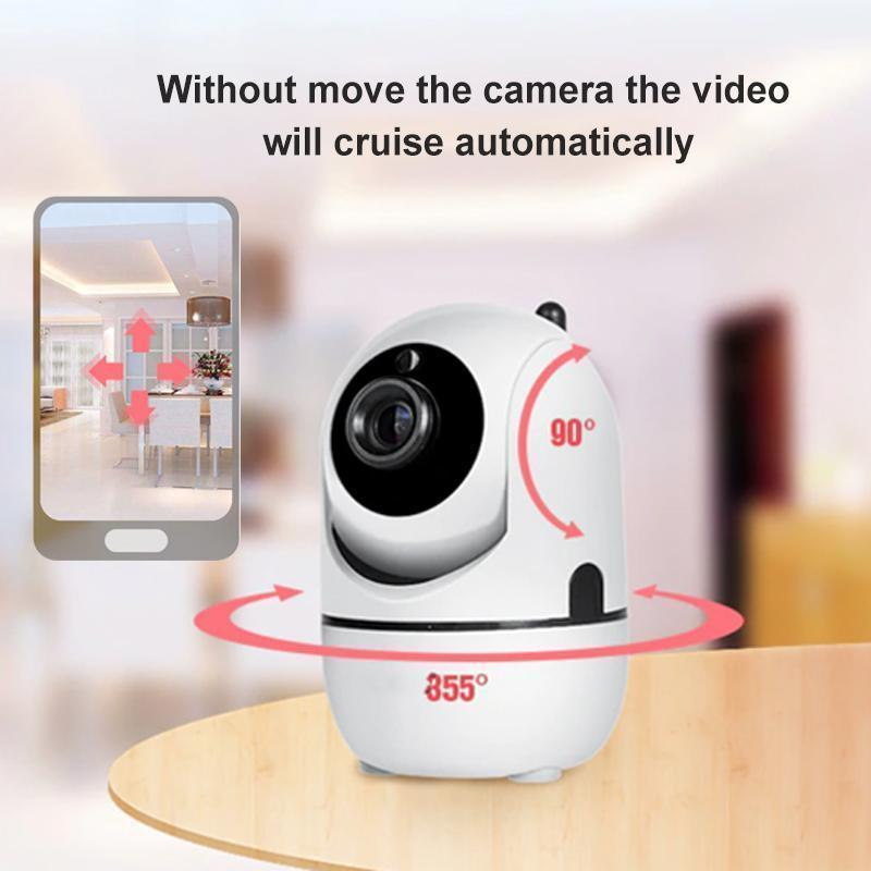 The Smart AI Security Camera - Automatic body tracking, Night vision HD