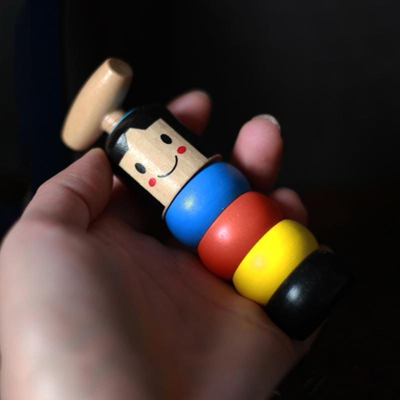 Hilifebox™ Unbreakable wooden Man Magic Toy