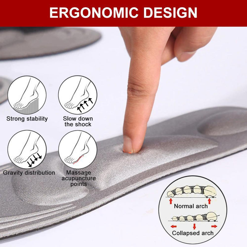 Hilifebox™  4D Pain Relief Insoles (1 pair)