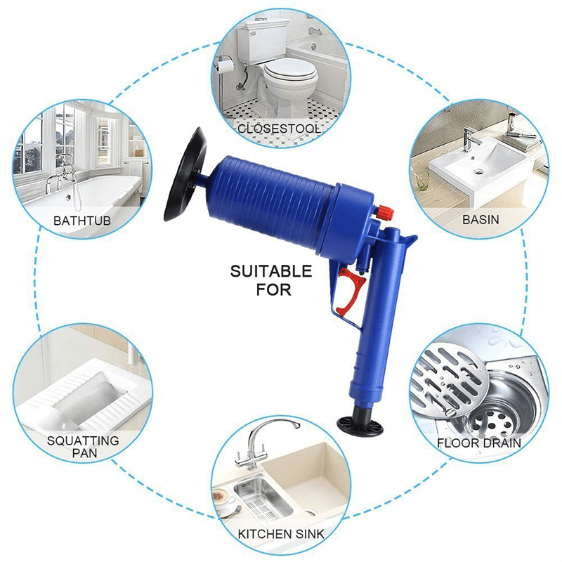 Domom® Air Powered Drain Gun