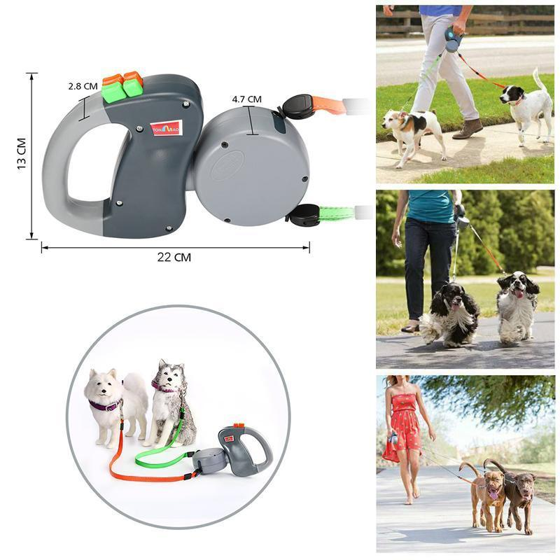 HIlifebox™ Dog Leash For Two Dogs