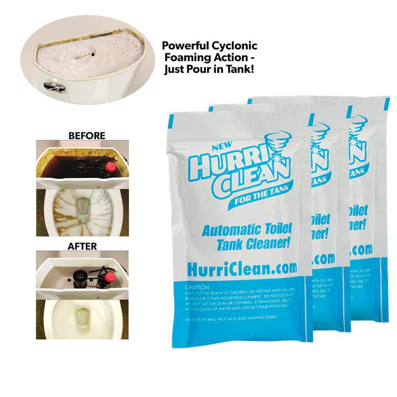 Hirundo Toilet Tank Cleaner, 3 Packs