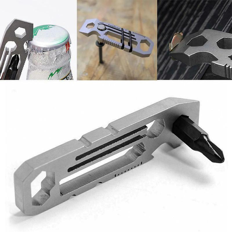 Ratcheting Keychain Multi-tool