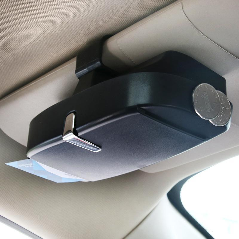 Universal Car Visor Sunglasses Case