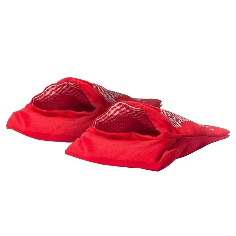 Hirundo Magic Microwave Baking Bag -Red /2 Packs