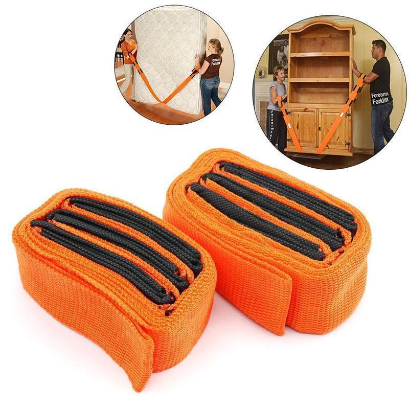 Adjustable Furniture Teamstrap Moving and Lifting Straps -2pcs