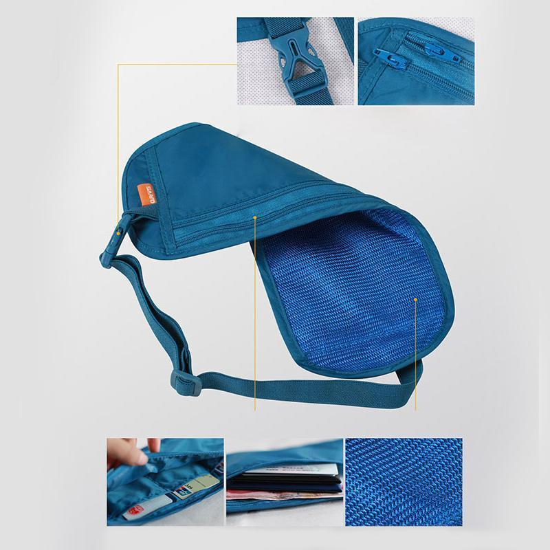 Multifunction Silm Invisible Waist Bag