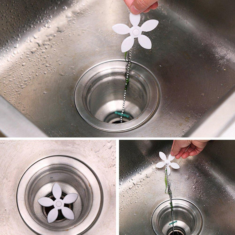 Bequee™ Shower Drain Hair Catchers, 5pcs