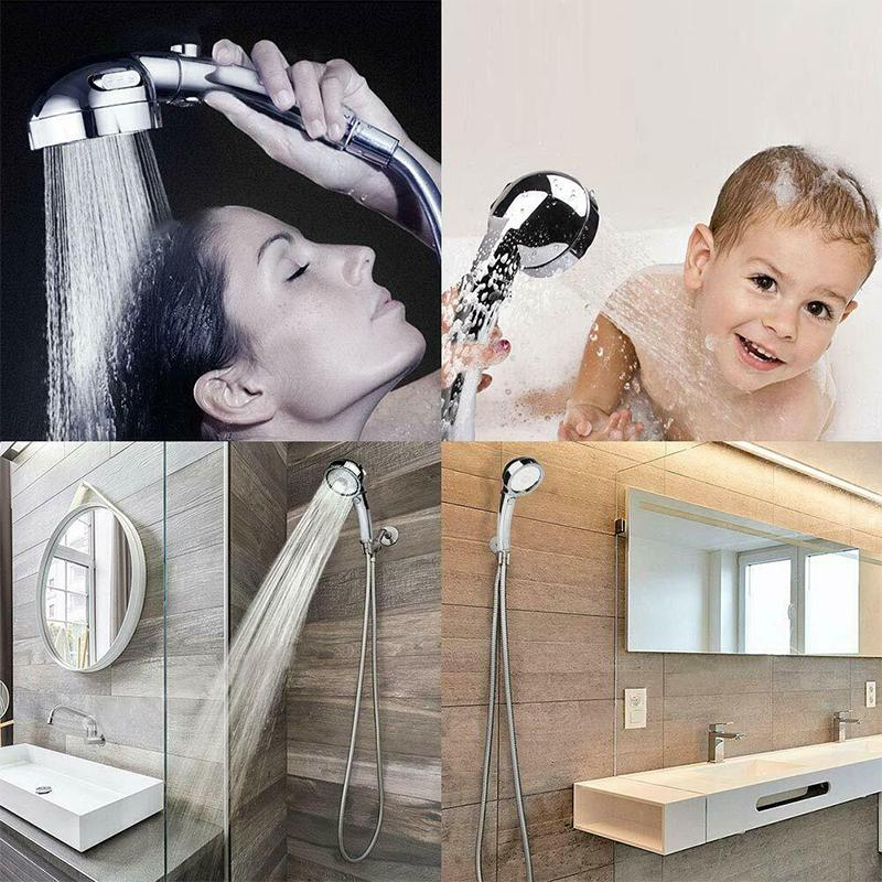Hilifebox™ Adjustable Switch Shower Head