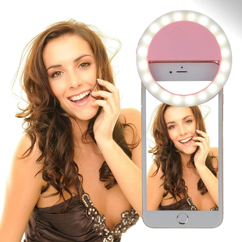 Selfie Light With 36 LED Light, 3-Level Adjustable Brightness