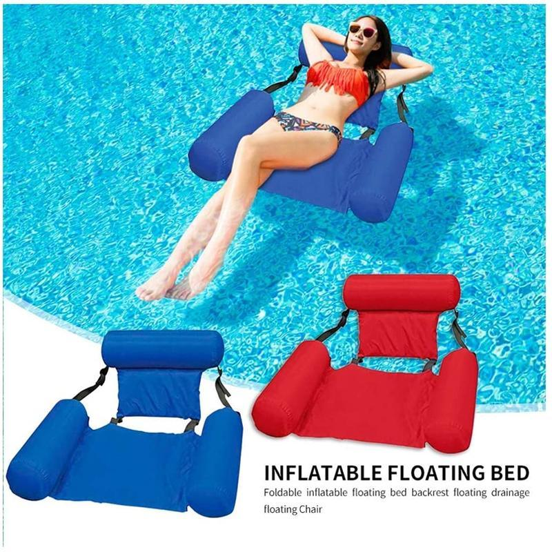 Swimming Floating Bed And Lounge Chair