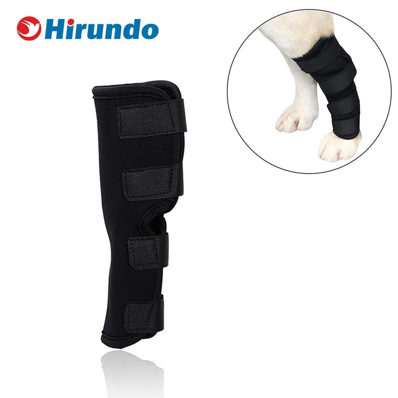 Hirundo Dog Leg Brace for Joint Wounds and Injury, One Pair
