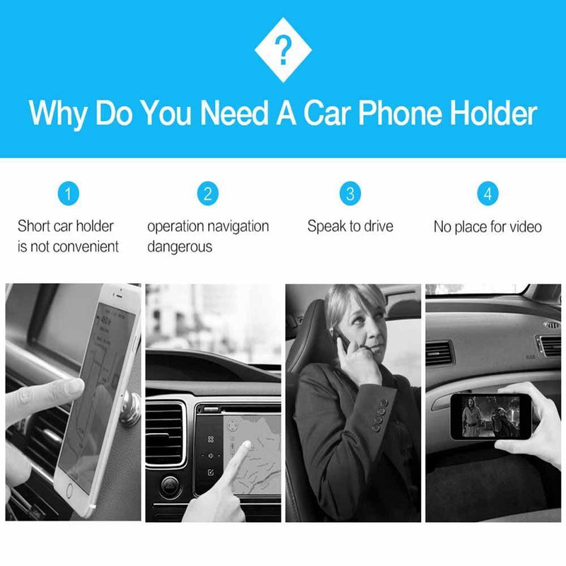 Hilifebox™  Car Phone Holder/Black