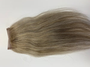 Grey Blonde Virgin Straight Closure
