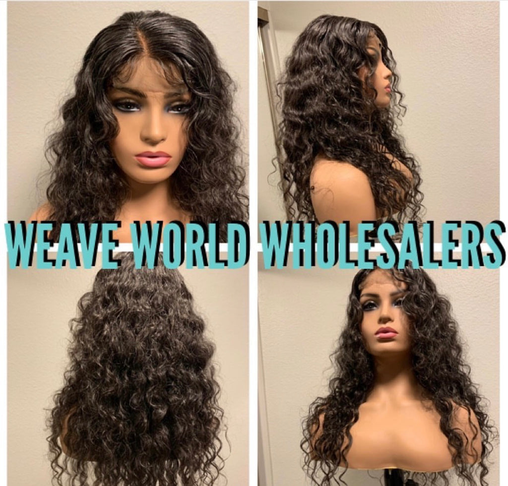 SALT & PEPPER GREY WAVY LONG LAYERED WIG