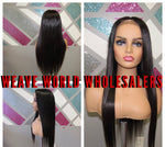SILKY STRAIGHT LACE CLOSURE WIG