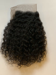RAW CURLY CLOSURES