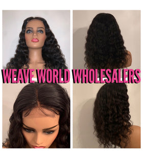 RAW CURLY LACE CLOSURE WIG