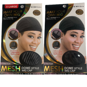 STRETCH MESH DOME STYLE WIG CAP