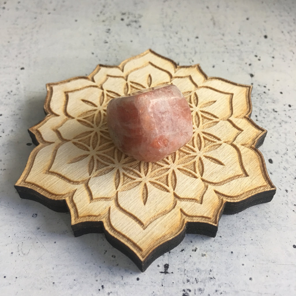 Lotus Mala and Crystal Grid Pack for Inner Peace and Harmony
