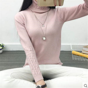 Korean Turtleneck Sweater