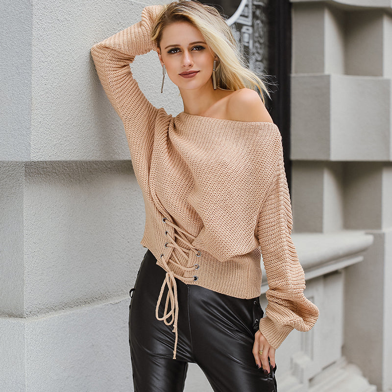Bottom Lace-Up Jumper