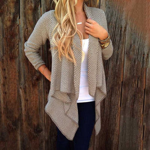 Irregular Dot Cardigan
