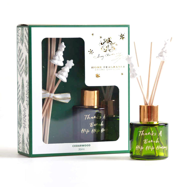 Starry Christmas - 30ml Diffuser with Clay Deco Reeds