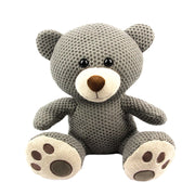 "10.5"" Sitting Animals Plush With Knitted Fabric"