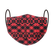 I Love Patterned 3D Mask - Check Me Out